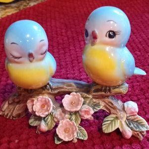 🐦🕊💞🦋 vintage bluebirds of Happiness figurine